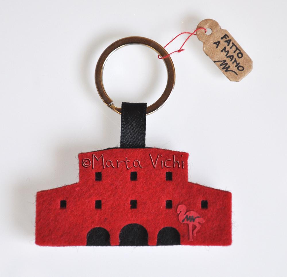 Casa Rossa portachiavi1